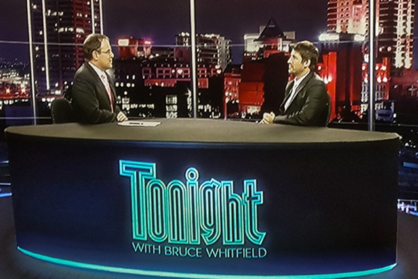 Tonight Show with Bruce Whitfield